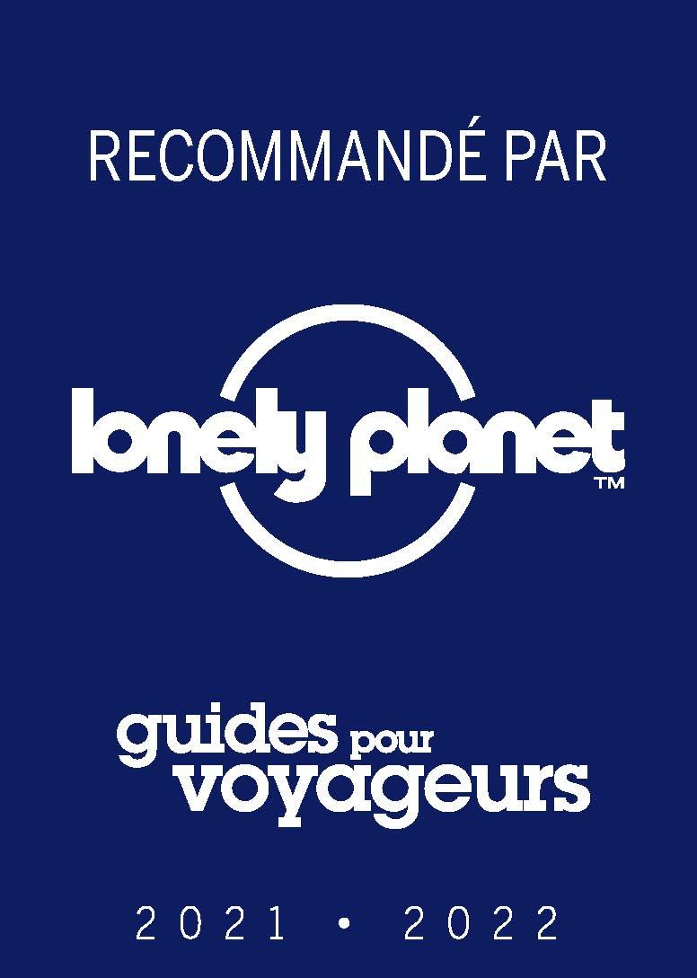 recommandé par lonely planet